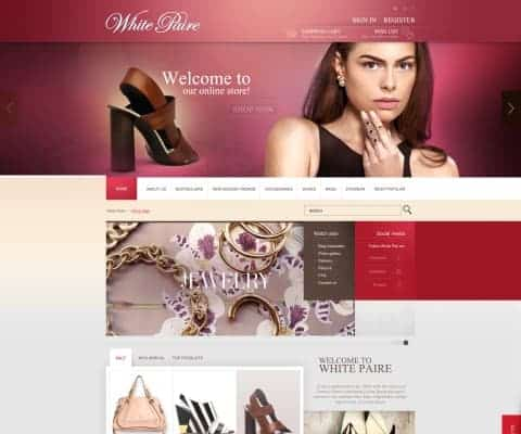 Magento Website for Whitepaire